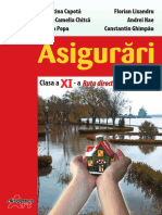 Asigurãri Manual pentru clasa a XI-a
