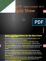 Openday It Quiz 2014