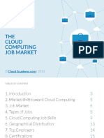 CloudAcademy.com -Cloud Computing Job Market