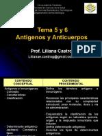Tema 5 y 6 Antigenos y Anticuerpos