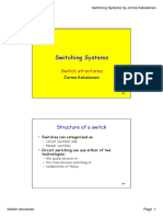Switching Systems - Switch Structures