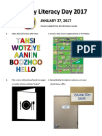 MKO Family Literacy Day 2017 Activity Poster