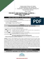 Tec Em Patologia Analises Clinicas PROVA