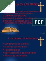 La Biblia en Las Manos