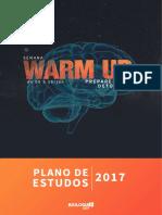 1 Warmup Plano de Estudos 2017 7e1