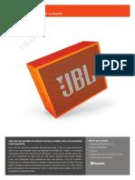Manual Jbl Go