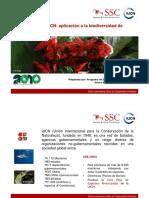 Lista Roja - Aplicacion a biodiversidad de aguia dulce