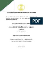 Universidade de Coimbra Pleural