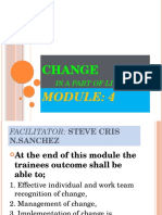 Module 4-Change is a Part of Living