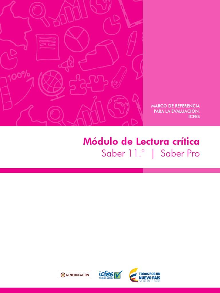 Marco de Referencia Lectura Critica