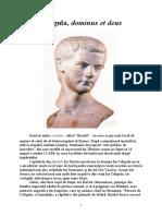 Caligula, Dominus Et Deus
