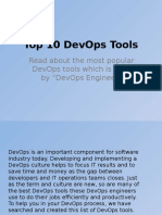 Top 10 DevOps Tools