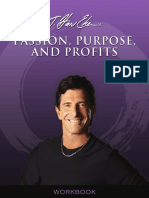 Passion Purpose and Profits Workbook