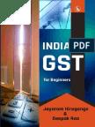 India GST for Beginners by Jayaram Hiregange, Deepak Rao
