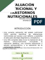 Evaluacion Nutricional y Trastornos Nutricionales