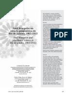 FACCHINETTI, C. MUNOZ, P. Emil Kraepelin na ciência psiquiátrica do Rio de Janeiro, 1903-1933 (2013).pdf