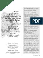 JACOBINA, R. CARVALHO, F. Nina Rodrigues, Epidemiologista Estudo Histórico de Surtos de Beribéri ... (2001)
