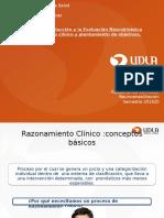 Razonamiento Clinico Clase Introductoria