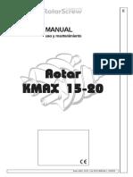 Manual Kmax usuario