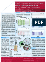 The effect of oseltamivir carboxylate on nitrification of wastewater by bioparticles from a pilot-scale expanded bed reactor (poster)