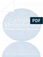 Eduardo Viveiros de Castro Cannibal Metaphysics for a Poststructural Anthropology