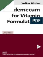 Buhler 2003-Vademecum for Vitamin Formulations