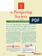 ch 12 - a prospering society