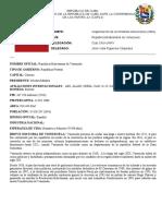 Position Paper Venezuela OEA