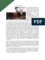Conqista y Colonizacion Española