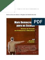 Pensamento a Ser Retirado de Paulo Freire