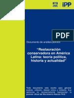 RESTAURACIÓN-CONSERVADORA