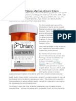 thelongseriesoffailuresofprivateclinicsinontario