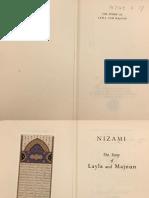 Layla and Majnun - R Gelpke