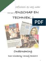 Kimberley Vermeij - Onderzoeksverslag Onderneming