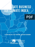 Tax Foundation - 2017 State Business Tax Climate Index