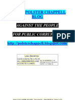DISQUALIFICATION of CROOKED U.S. Judge Sheri POLSTER CHAPPELL
