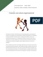 Creando Una Cultura Organizacional P