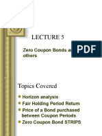 Lecture 5 ZCB Spot Rates