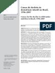 Causas do declínio da desnutrição infantil no Brasil, 1996-2007