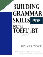 Building Grammar for TOEFL