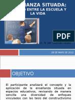 enseanzasituadayevaluacionautentica-120608135846-phpapp01