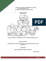 Antologia Curso Taller Del Área de Comunicación en Educacion Especial