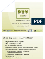 Small Business E-commerce Export Roadmap 2010