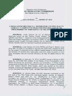Resolution No.13 Series of 2015 CSP DUs