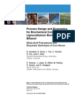 NREL - Humbird Et Al 2011 - Process Design and Economics for Biochemical Conversion of Lgc Biomass to Ethanol