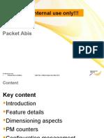 Packet Abis - Internal Workshop