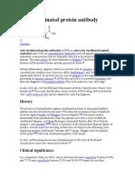 Anti Citrullinated Protein Antibody.wikePEDIA