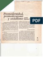 Posmodernidad, posmodernismo y socialismo - Adolso Sánchez Vázquez.pdf