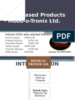 Mood o Tronix Marketing Management Presentation