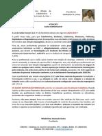 Informativo SOBCSPA